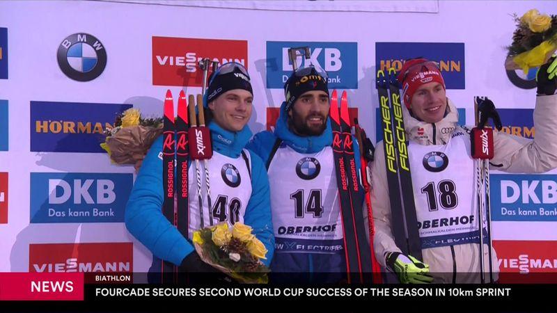 Oberhof: 10km sprint : news 10/01