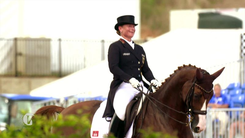 Wereldruiterspelen in Tryon: Duitse dominatie in de dressuur