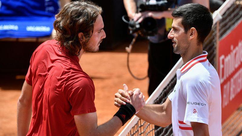 Djokovic-Tsitsipas: El 19º pasa por vencer al novato más incómodo (15:00)