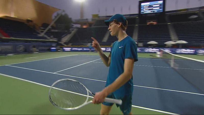 ATP Dubai: Jannik Sinner, victorie fabuloasă în optimile de finală! Succes pe muchie de cuțit cu RBA