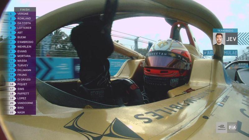Fórmula E, ePrix de Sanya: Así fue la última vuelta marcada por el accidente de Di Grassi
