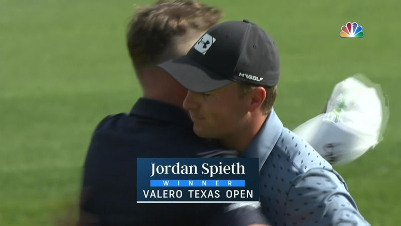 Jordan Spieth trionfa al Valero Texas Open: gli highlights