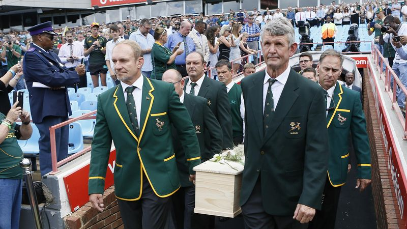 Thousands pay respects to Joost van der Westhuizen