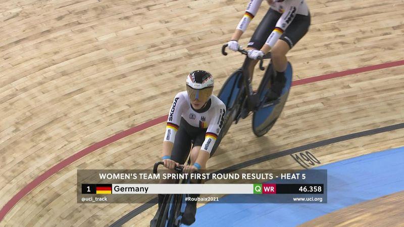 ¡Dos récords en un día! El equipo femenino de Alemania arranca a lo grande