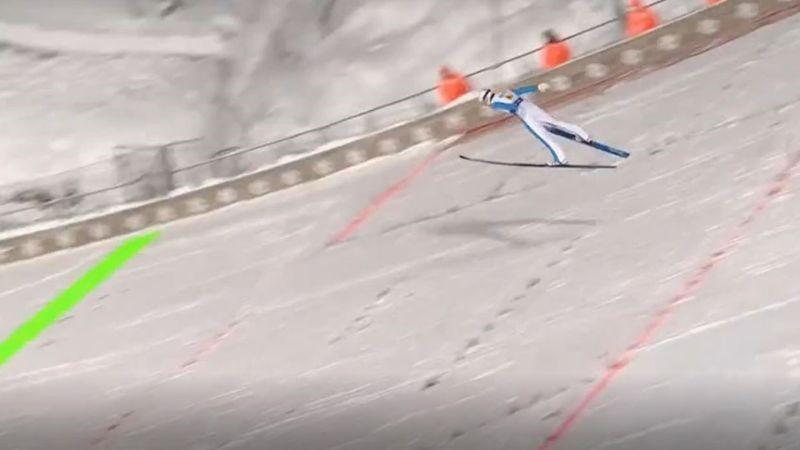 """""""Sensationeller Sprung!"""" Lindvik katapultiert sich auf 144,5 Meter"""