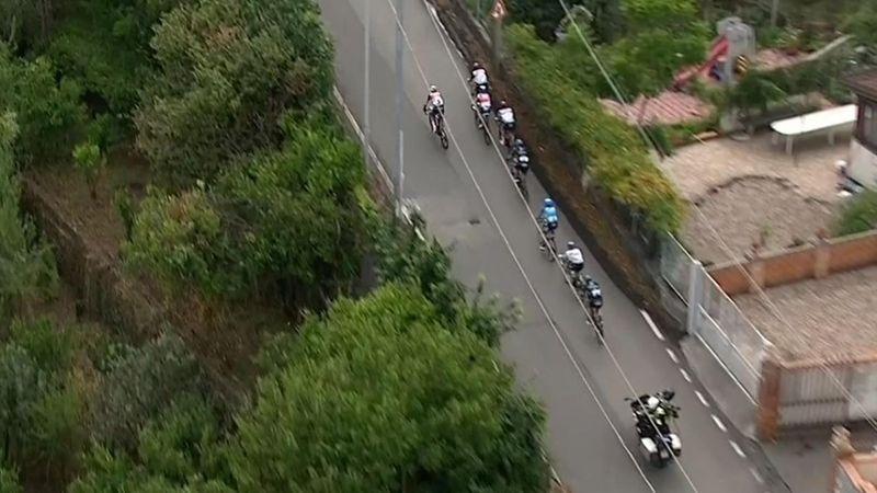 Keiner kann folgen: Nibali bläst zur Attacke