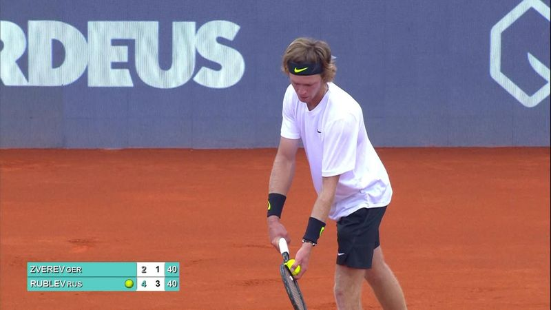 Adria Tour: Andrey Rublev books place in final with win over Alexander Zverev