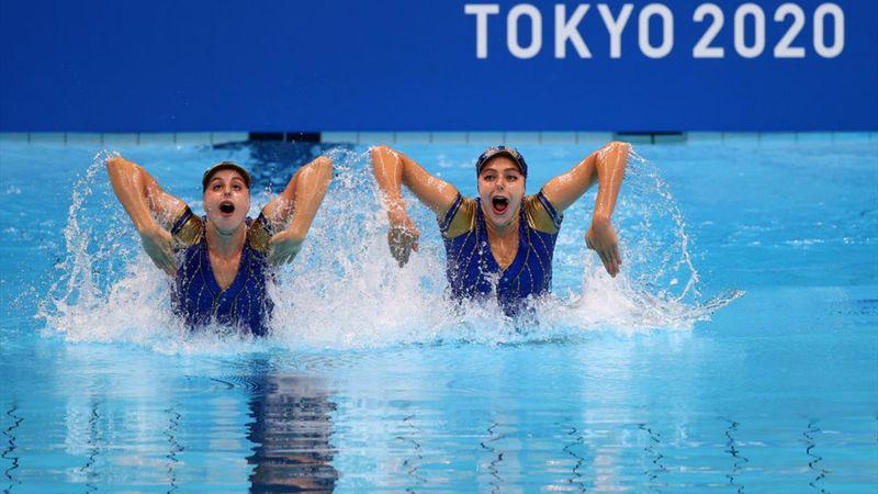 Natación sincronizada   Tió y Ozhogina, undécimas en la rutina técnica, estarán en la final