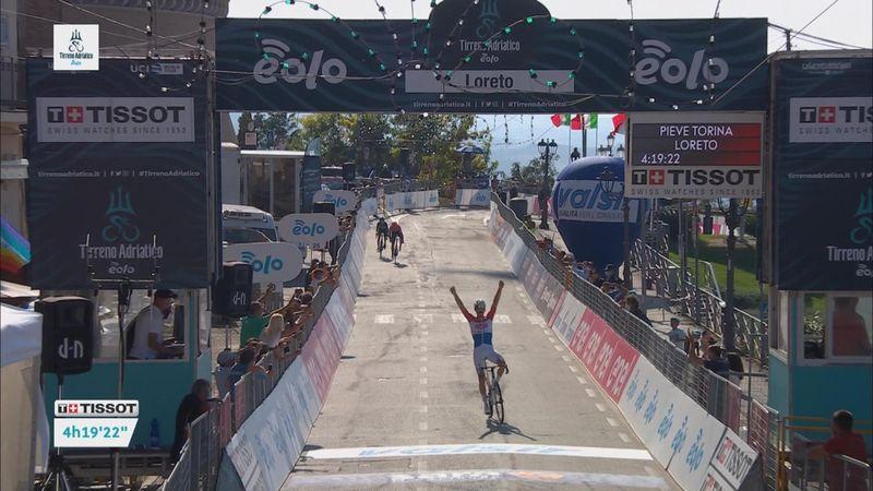 Mathieu van der Poel, victorie superbă în etapa a 7-a din Tirreno