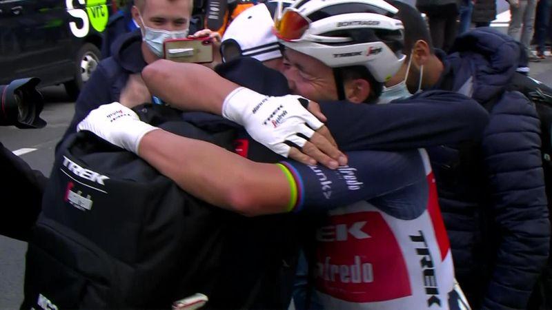 Bătălia Van der Poel vs Van Aert, câştigată de...Mads Pedersen. Danezul s-a impus în Gent-Wevelgem