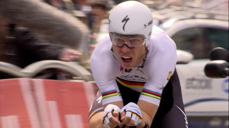 Tour of Belgium: Wout van Aert chalks up surprise win