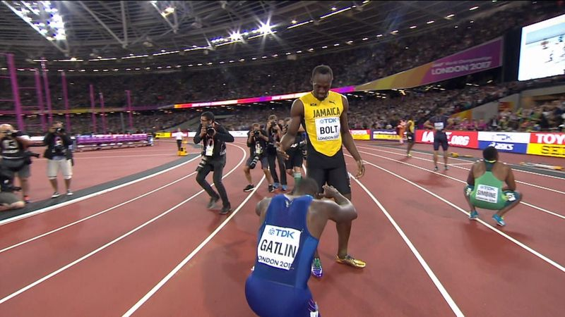 Londra 2017 erkekler 100 metre finali: Justin Gatlin'den tarihi zafer!