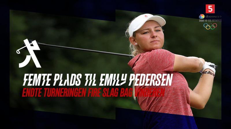 De danske medaljedrømme blev slukket: Emily Pedersen ender som delt femmer