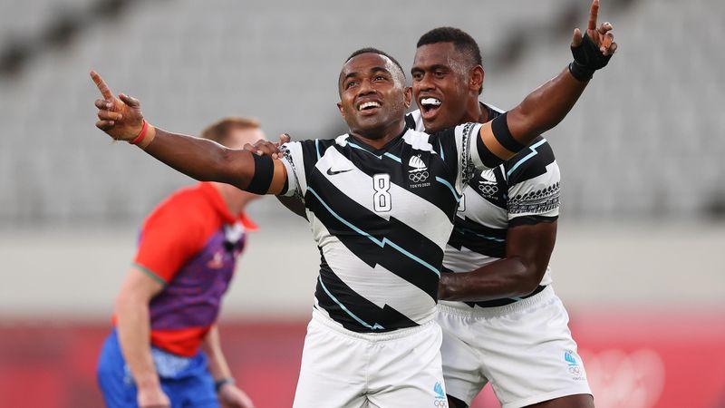 Tokyo 2020 | rugby 7 - Emotioneel Fiji in finale te sterk voor Nieuw-Zeeland