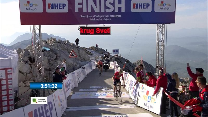 Tour of Croatia: 3. etabın son kilometresi