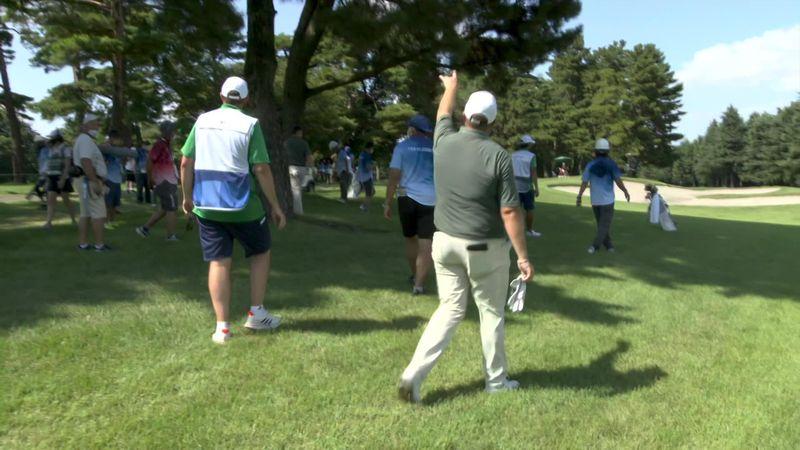 Unde e mingea? Viralul zilei la Tokyo vine din competiția de golf