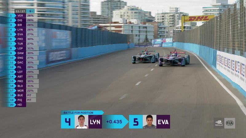 'Watch Mitch Evans' outrageous Formula E overtake