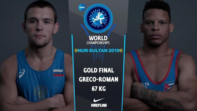 Cuba's Borrero Moli wins 67kg Greco-Roman wrestling medal