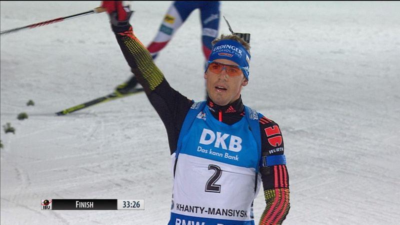 Schempp overhauls Boe to claim men's pursuit victory