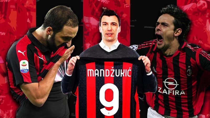 Milan: Mandzukic sceglie la 9, la maglia maledetta!