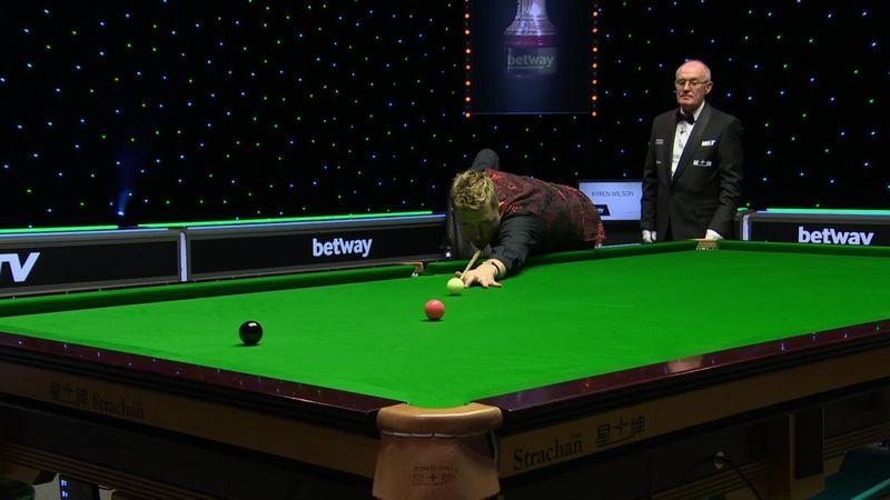 'Sensational display of long potting' – Wilson through to quarters