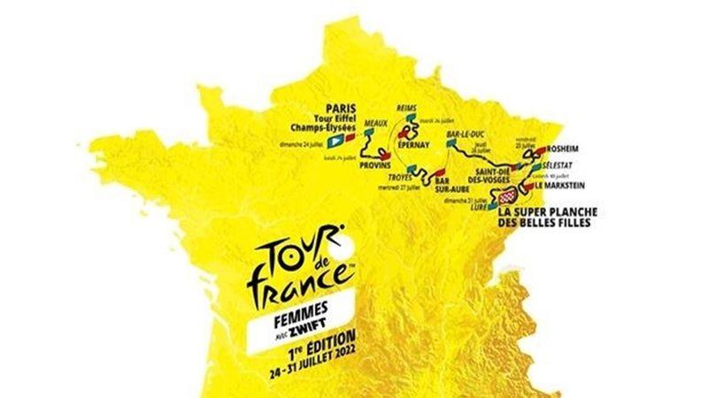 Tour de France der Frauen 2022: Die Strecke aller acht Etappen