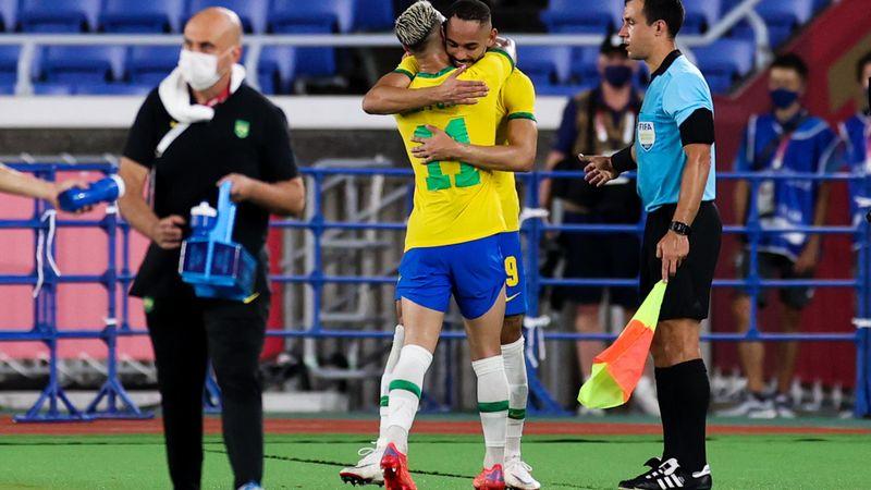 Tokyo 2020   Brazilië komt op 2-1 in de verlenging