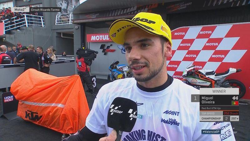 """Oliveira : """"Il ne fallait pas être le plus rapide"""""""