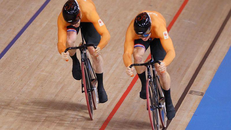 Harrie Lavreysen, campion olimpic la sprint, la ciclism pe velodrom
