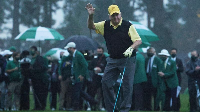 Gary Player, Jack Nicklaus begin 84th Masters with traditional honourary tee shots
