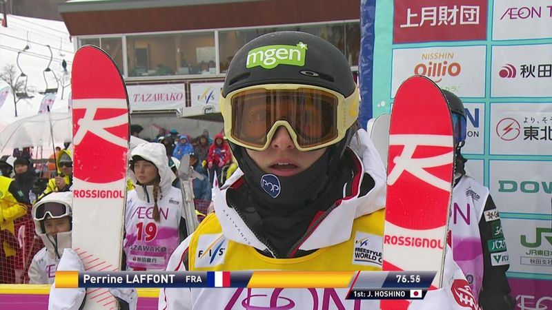 Freestyle Skiing: Perrine Laffont records seventh win of the season in Japan