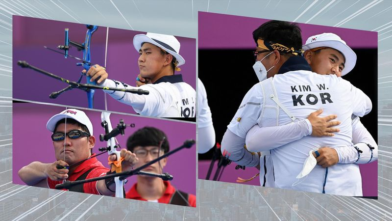Sydkorea i dramatisk shootout mod Japan i bueskydning