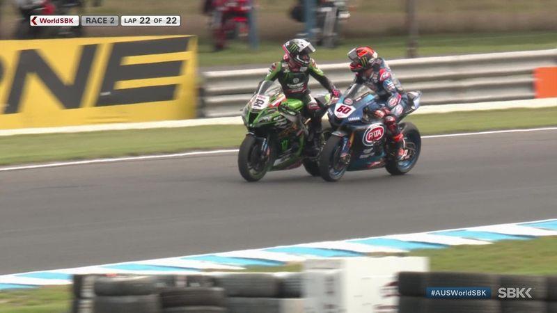 Superbikes, Australia: Lowes se estrena con Kawasaki en la segunda carrera