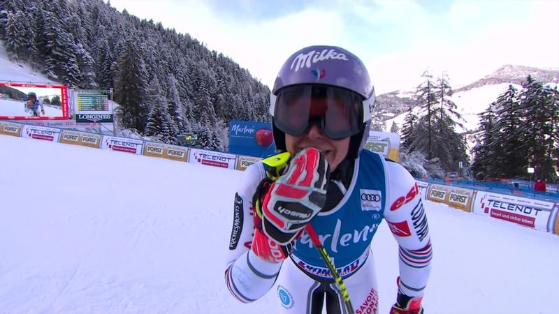 'Classic Tessa Worley' - Frenchwoman produces stellar second run for first win since 2018
