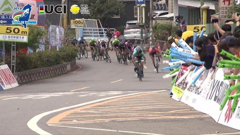 Tour de Taiwan: Jonathan Clarke batte Giovanni Lonardi sul traguardo di Jiaobanshan Park