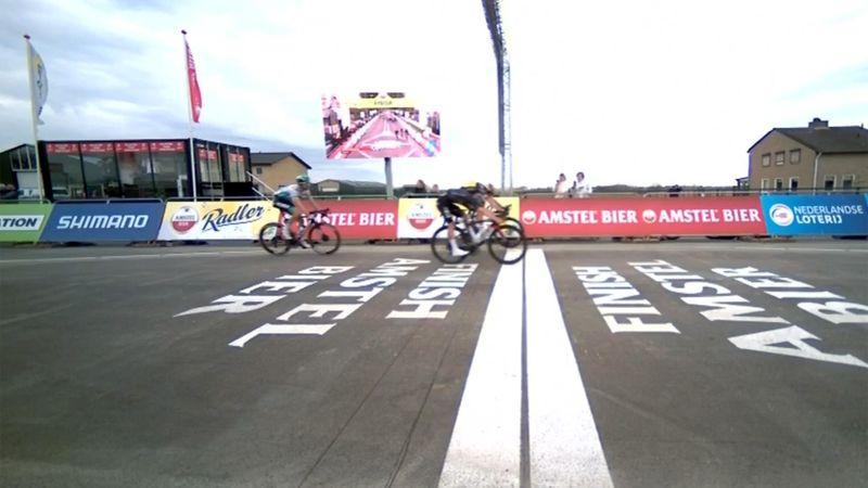 Um Haaresbreite! Van Aert gewinnt Amstel Gold Race
