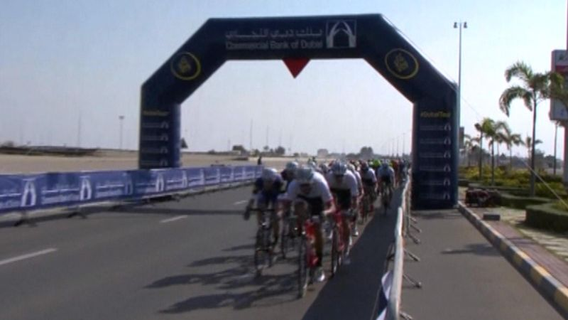 Dubai'de ilk zafer Kittel'in