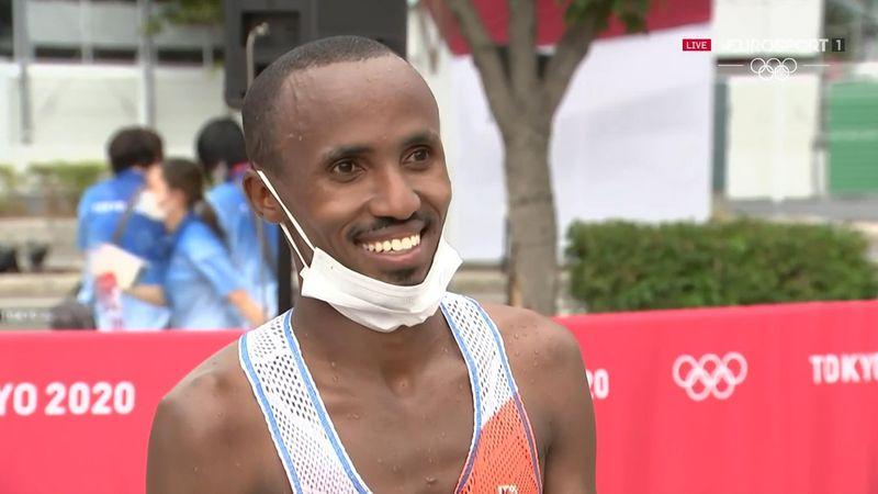 Tokyo 2020 | Abdi Nageeye dolgelukkig na zilveren medaille