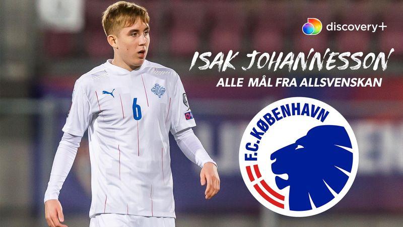 FCK's nye islandske stortalent: Se alle Johannessons scoringer i Allsvenskan