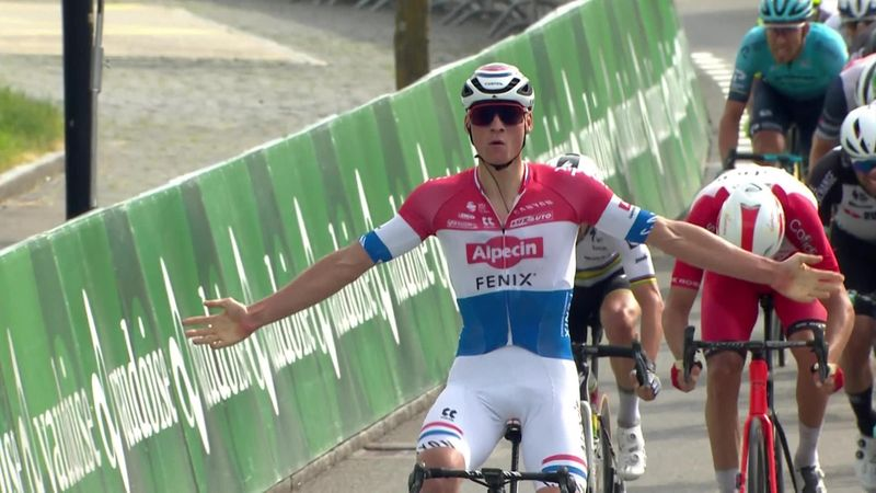 Highlights: Van der Poel takes second stage in a row to move into overall lead