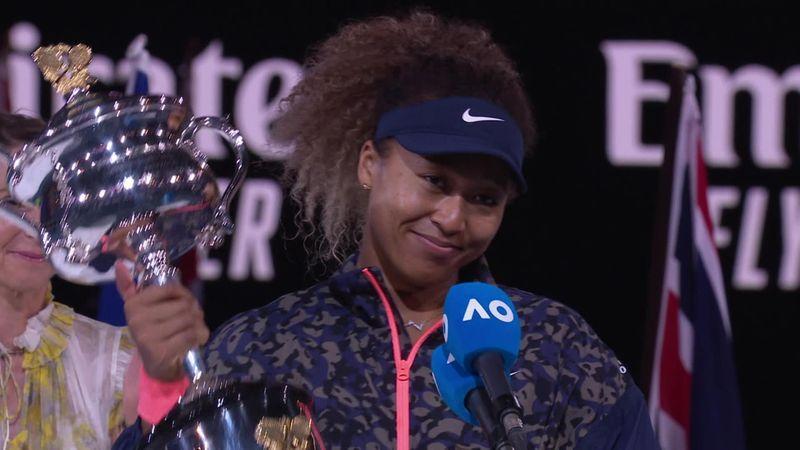 Australian Open | Naomi Osaka na haar overwinning op Jennifer Brady