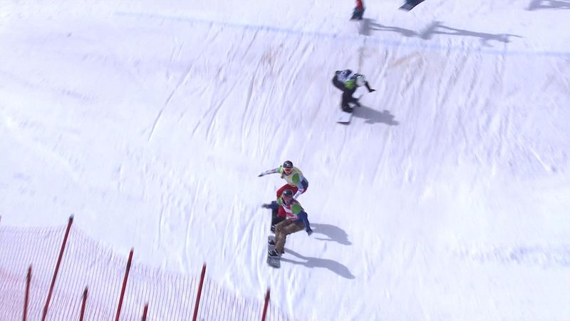 Snowboard cross women final