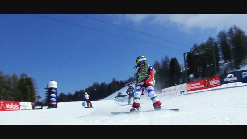 """Raffaella Brutto: """"Lo snowboard mi ha fatto sentire speciale"""""""