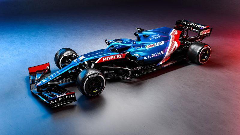 Así es el nuevo Alpine A521 de Alonso