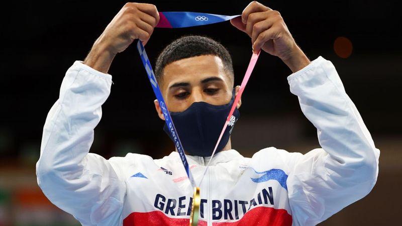 Tokyo 2020 - Galal Yafai (GBR) mot Carlo Paalam (PHI) - Boxing - Men's fly final – OL-høydepunkter