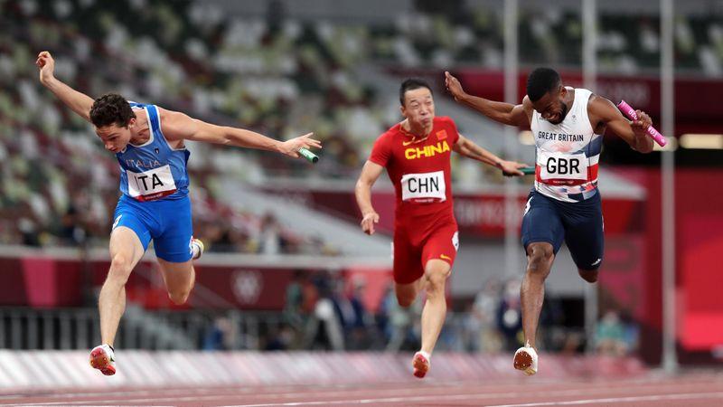 Atletismo (H) | Espectacular remontada y victoria de Italia en el 4x100
