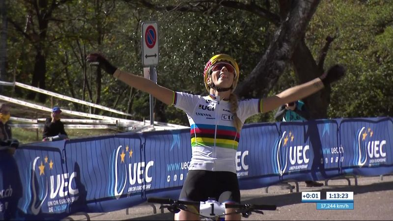 Pauline Ferrand Prevot gana el Campeonato de Europa en Monte Tamaro