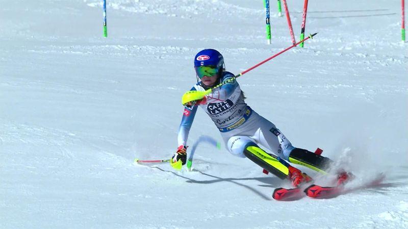 'Nightmare' – Shiffrin's five-peat slalom bid in jeopardy after poor first run