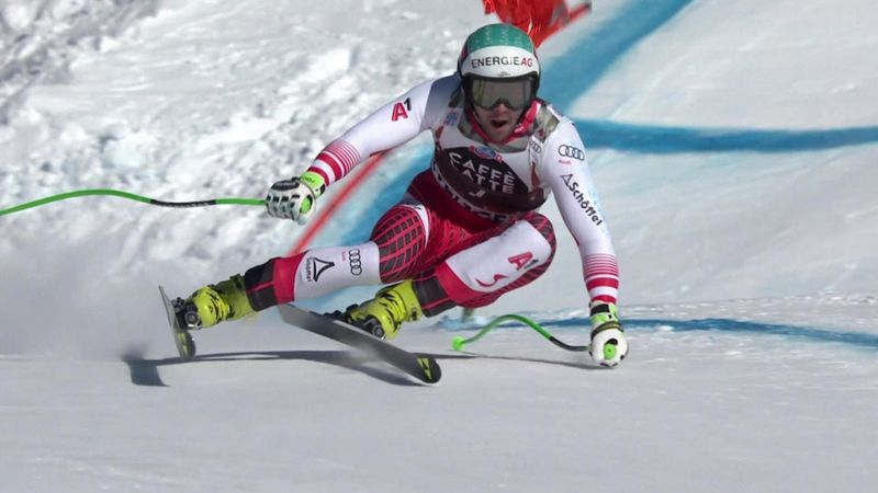 Kriechmayr produces huge run to win in Wengen