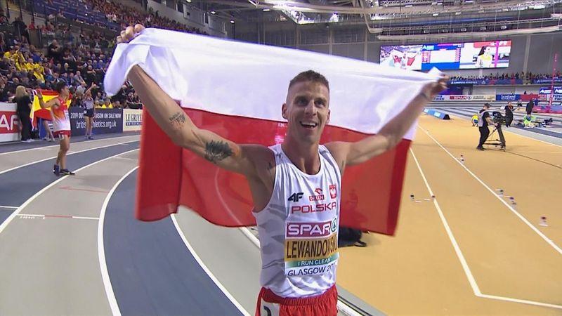 Ek Indoor | Lewandowski prolongeert titel 1500 meter